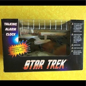 Star Trek Talking Alarm Clock. NIB